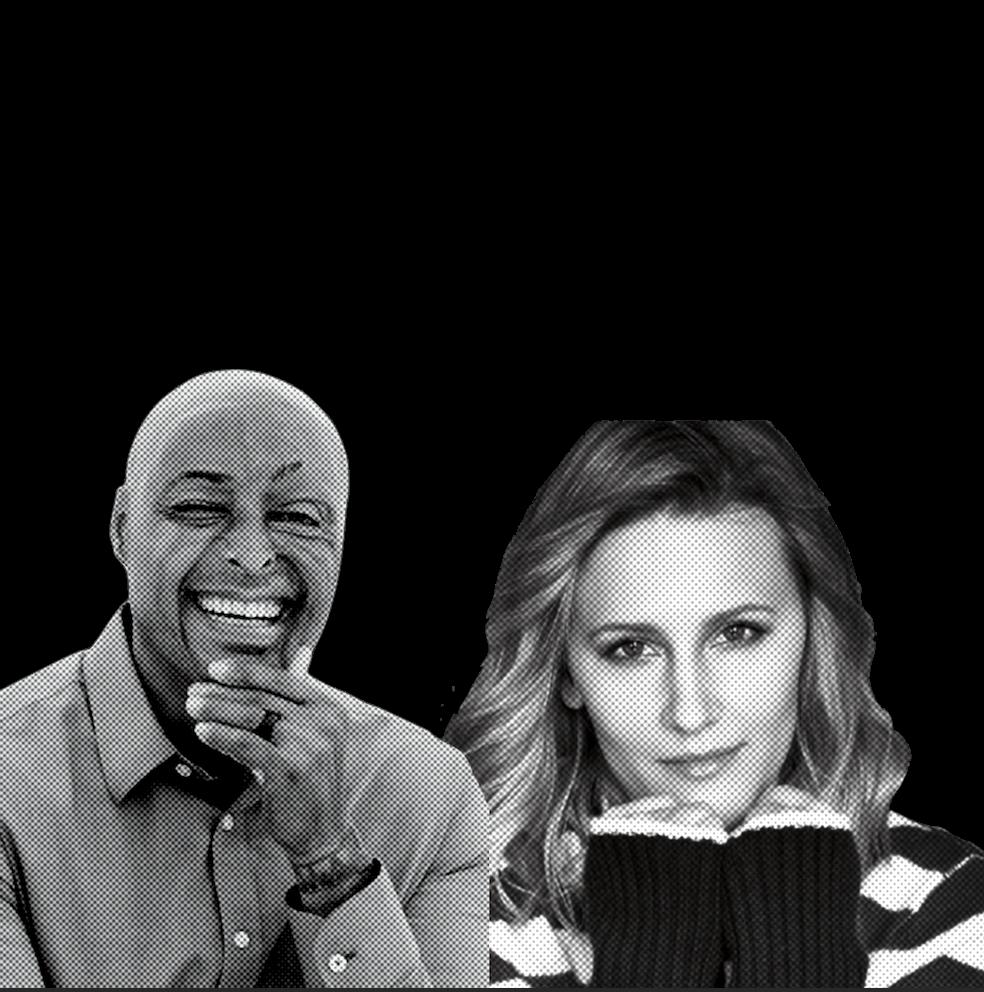 J.R Martinez & Tahlia Dos Santos