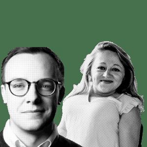 Chasten Buttigieg & Emily Voorde
