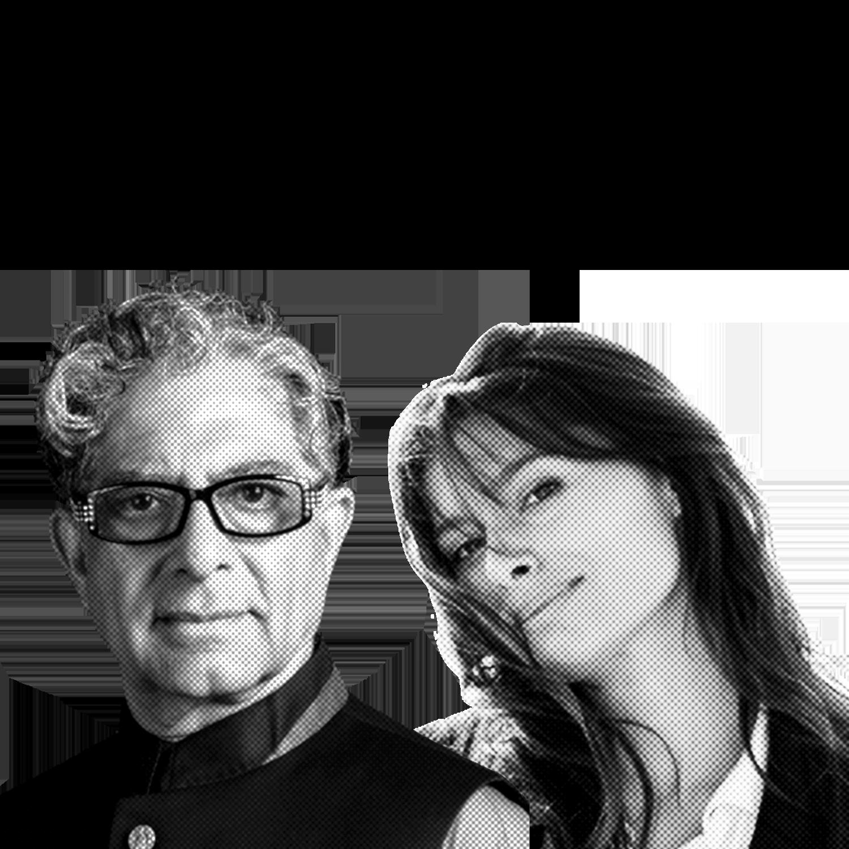 Deepak Chopra & Gabriella Wright