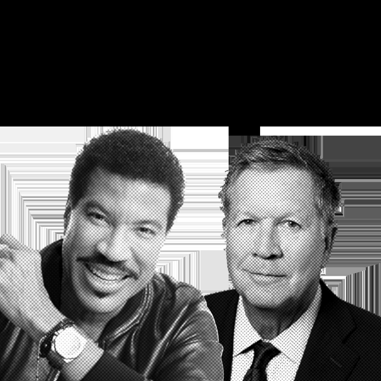 Lionel Richie & Governor John Kasich