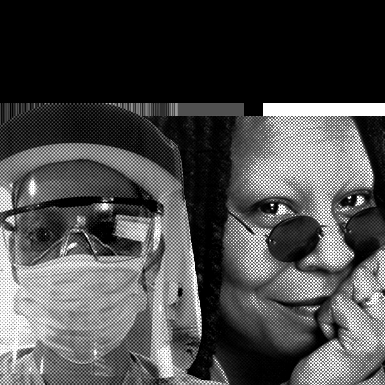 Whoopi Goldberg & ICU Nurse Celia Nieto